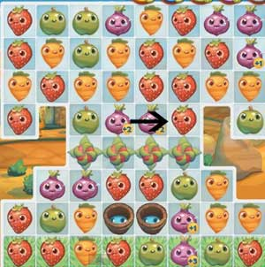 Farm Heroes level 95