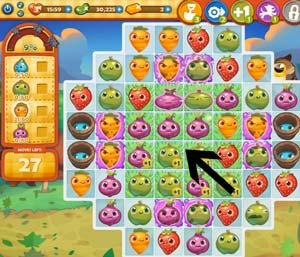 Farm Heroes level 134