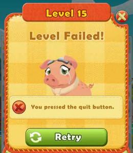 level-fail