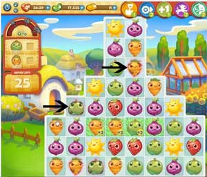 Farm Heroes level 126