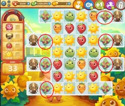 Farm Heroes level 515