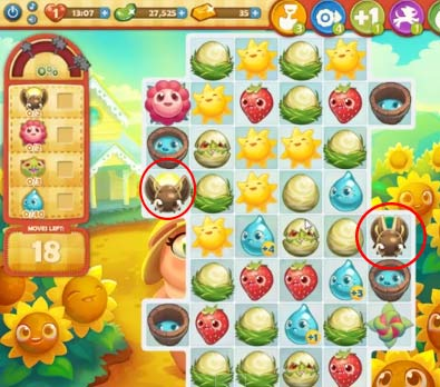 Farm Heroes level 517